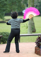 Hainan - Dancer with a Pink Fan