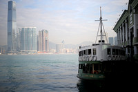 Hong Kong - Star Ferry from Kowloon to Hong Kong Central