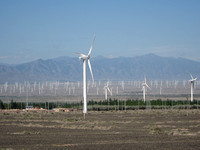 Xinjiang - Wind Turbine Farm