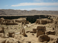 Xinjiang - Jiaohe Ruins Northern Zone (交河故城)