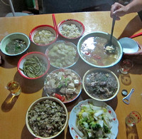 Fujian - Welcome Dinner at Wenhui's Home