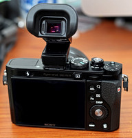 Electronic Viewfinder Attached