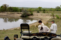 Leopard Hills — Morning Break with Hippos