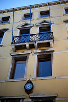 Architecture in Pale Yellow & Blue