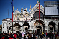 Easter Crowds and San Marco