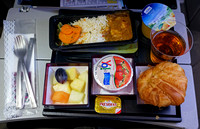 Doha to Nairobi In-flight Meal