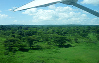 Take-off from Angama