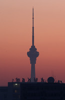 Beijing TV Tower at Various Shutter Speeds
