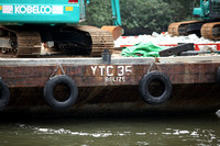 Singapore - A Belize-Registered Working Barge