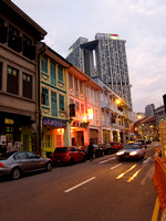 Singapore - Bukit Pasoh Road in Chinatown