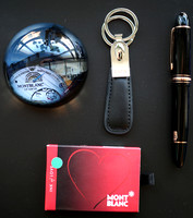 Montblanc Event, Portrait and EF 149 Meisterstück Pen