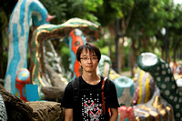 Singapore - Photographer Cheng on Sentosa Island