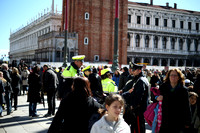 Easter Sunday Crowds in St. Mark's Square